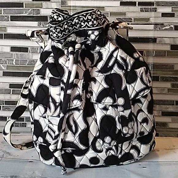 Vera Bradley black white backpack 🎒 🖤